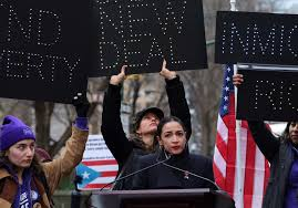 AOC Blames Human-Caused Climate Change on Latin American Immigration Caravans Coming to the US