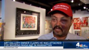 Major Networks Ignore Man Beaten For Wearing MAGA Hat