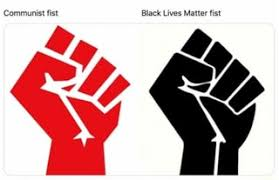 Communist Fist Identical to BLM Fist – a coincidence?
